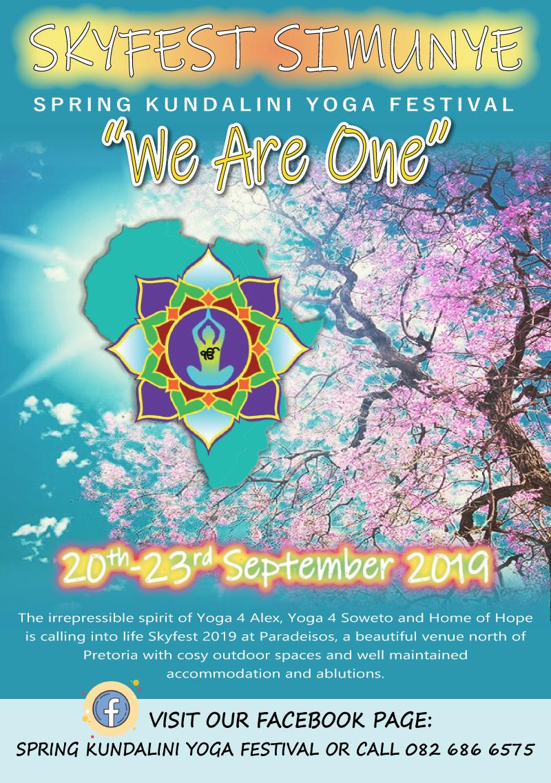 Skyfest Invitation 20 - 23 September 2019